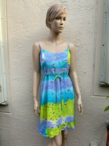 Vintage Jams World California Fun Summer Dress