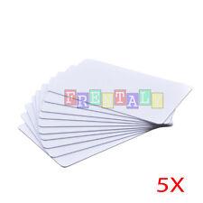 5X RFID card Writable Rewrite Readable 125KHZ T5577 Tag Proximity Access card