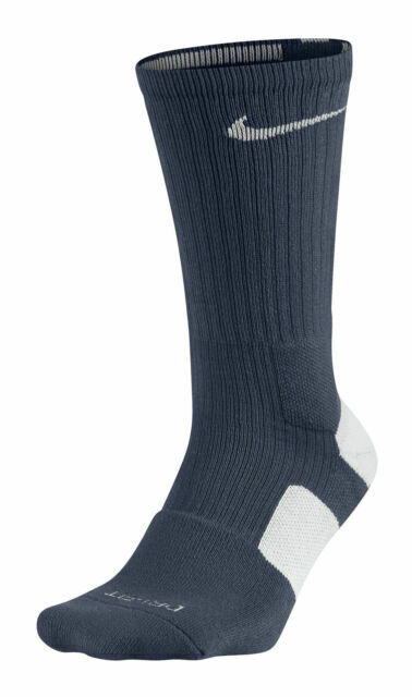 Nike Elite Basketball Crew Men's Socks, Size XL - Navy/White