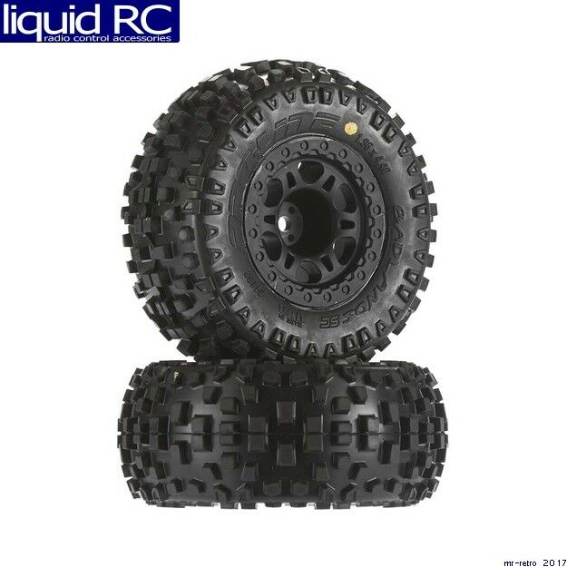 Pro-Line 1182-21 Badlands SC SC SC 2.2 inch  3.0 inch M2 Tires Mounted Front wheels 20b13e