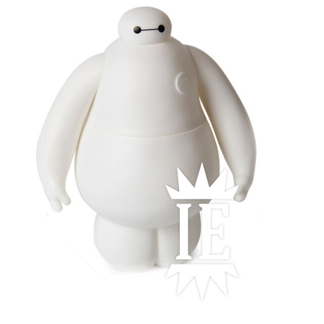 BIG HERO 6 BAYMAX ACTION FIGURE personaggio robot bianco statua disney marvel