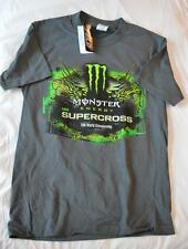 Monster Energy AMA SuperCross Sports Men's Graphic Tee Shirt SMALL