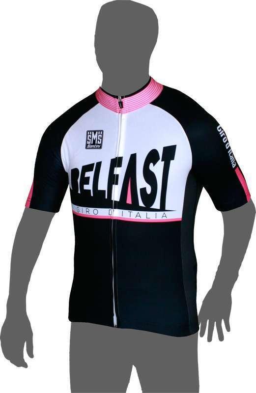 Giro d Italia 2014 BELFAST-Etappentrikot - Santini Radsport Kurzarmtrikot