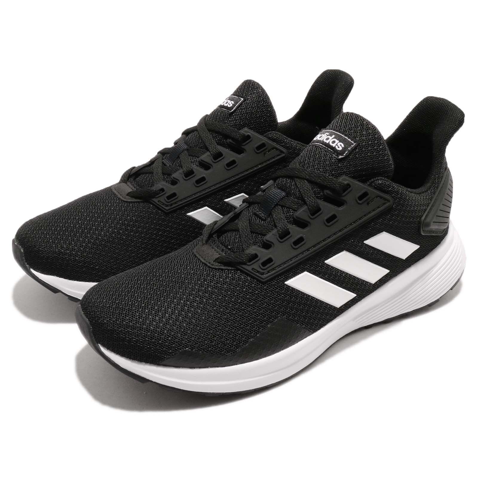 Adidas Duramo Duramo Adidas 9 K schwarz Weiß Schuhe Kid Youth Damens Running Schuhe 3b995e