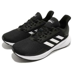 new concept 25b80 2b66f Image is loading adidas-Duramo-9-K-Black-White-Kid-Youth-