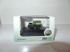 Oxford NLAN188009 N Gauge 1/148 Scale Land Rover Bronze Green Canvas Back