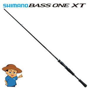 "Shimano BASS ONE XT 1610H-2 Heavy 6/'10/"" bass fishing baitcasting rod 2018 model"