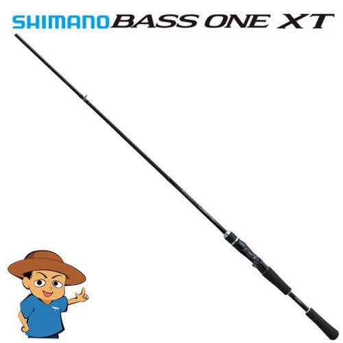 """Shimano BASS ONE XT 1610M-2 Medium 6/'10/"""" bass fishing baitcasting rod 2018 model"""