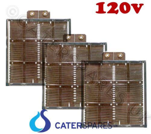 Dualit USA120V 2 Schlitz Modell Alter Stil Heizelement Set 1 X Mitte 2 X Ende