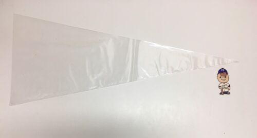 10x Soft Pennant Sleeve Bag 2 Mil Polyethylene Case Holder 12.75x31.5 Protector