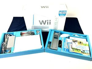 Nintendo Wii Sports Complete Console Tested With Box