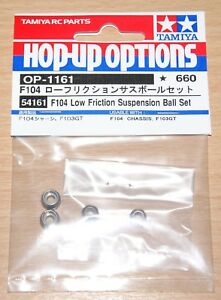 Tamiya-54161-F104-a-faible-friction-Suspension-Boule-Set-F104X1-F104V-2-TRF101-Neuf-sous-emballage