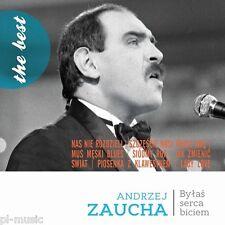 """= ANDRZEJ ZAUCHA """"bylas serca biciem"""" the best / CD sealed"""
