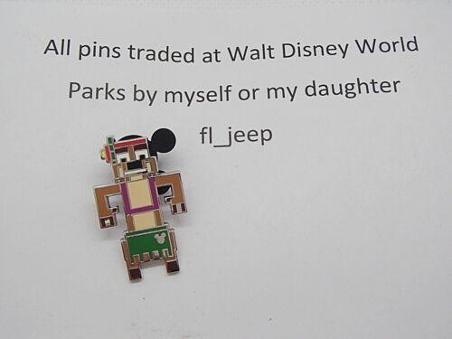Timon 133791 Disney Pin WDW 2019 Hidden Mickey 8-Bit Pixel Characters