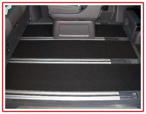 Gastraum Teppich Fußmatten hinten 3-teilig 240cm lang VW T5 Multivan