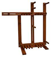Floor Standing Inkle Loom Tablet Weaving Card Weaving Loom - Handcrafted Red Oak
