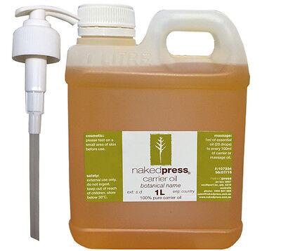 Jojoba Oil - 100% Organic - 1L + Pump