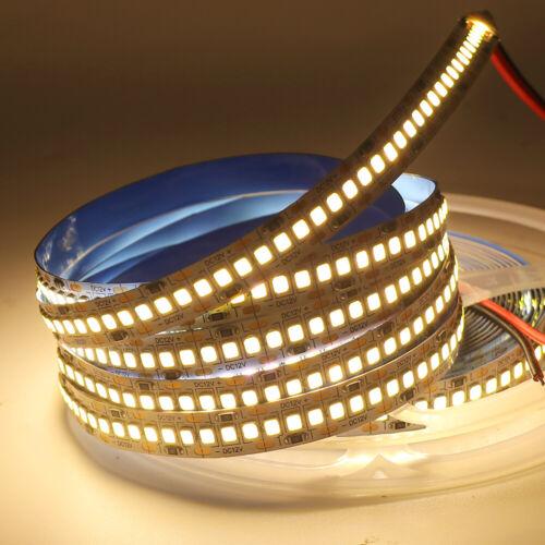 5M 10M 2835 240Leds//m Led Strip Light Flexible Self-Adhesive Tape Band DC12V