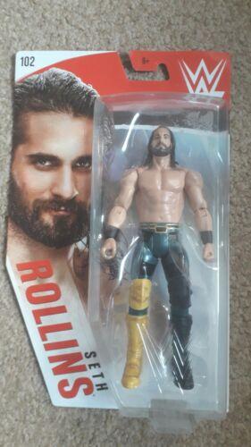 WWE Mattel Seth Rollins Serie di base 102 Figura-Nuovo di zecca in scatola