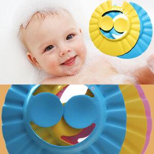 Baby Shampoo Cap Adjustable Waterproof Shower Bathing Protect Ears Wash Hair Hat