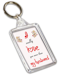 Image Is Loading Keyring Anniversary Valentines Birthday Gift I Love You