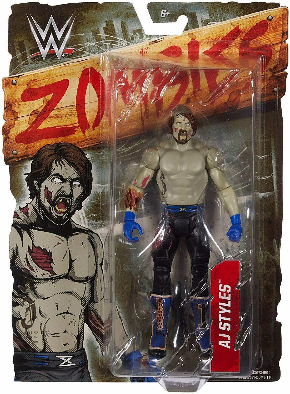 WWE Wrestling AJ Styles Zombies Action Figure  Wrestling Figure  édition limitée