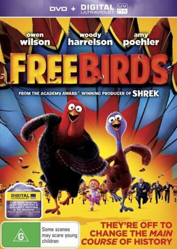 1 of 1 - Free Birds (DVD, 2014)