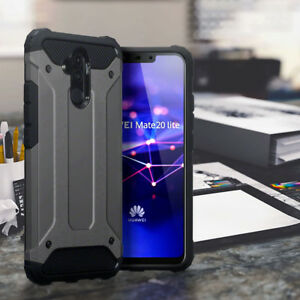 Rugged-Case-Heavy-Duty-Certified-Bumper-Space-Grey-Cover-For-Huawei-Mate-20