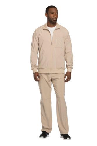 Infinity by Cherokee Men/'s CK305A Zip Front Scrub Jacket