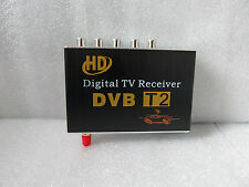 HD Mobile Car DVB-T2 H.264, MPEG-4 MPEG-2  CVBS Digital Tv Receiver Tuner Box