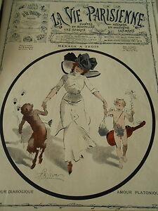 Amour-Diabolique-Amour-Platonique-Menage-a-Trois-Couverture-Cover-1910