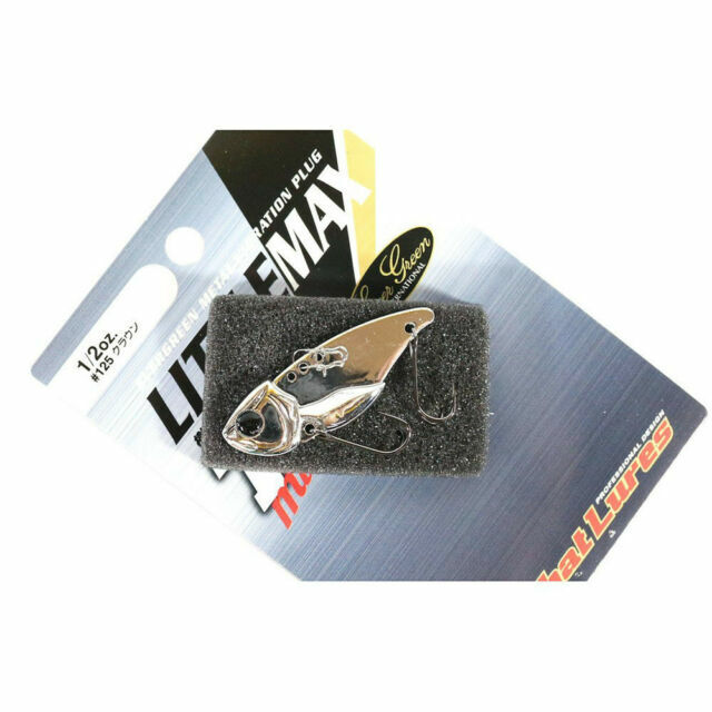 Sale Evergreen Little Max TG Muscle Metal Vibration 1//2 oz Lure 291 0812