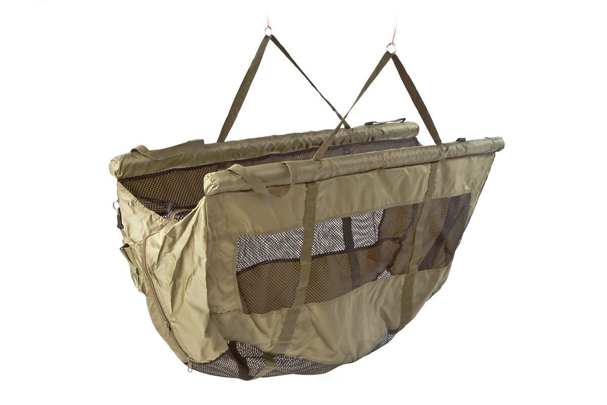 Fox STR Floatation Green Fishing Weigh Sling Floating Retention Sling - CCC026