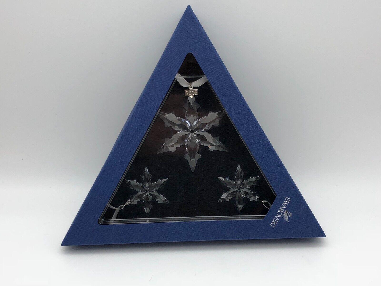 Swarovski Figurine de Noël étoile-set 2015. article neuf avec avec avec emballage 73834a