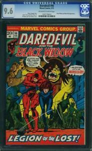 Daredevil-96-CGC-9-6-1973-Kane-Palmer-Colan-art-Black-Widow-Man-Bull