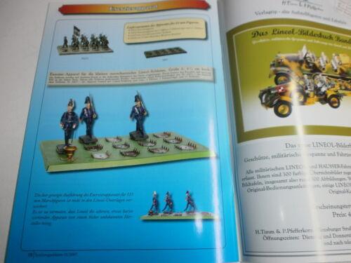 Das Lineol Bilderbuch 2004 für Lineol 7.5cm Massesoldaten Lineol Sonderheft