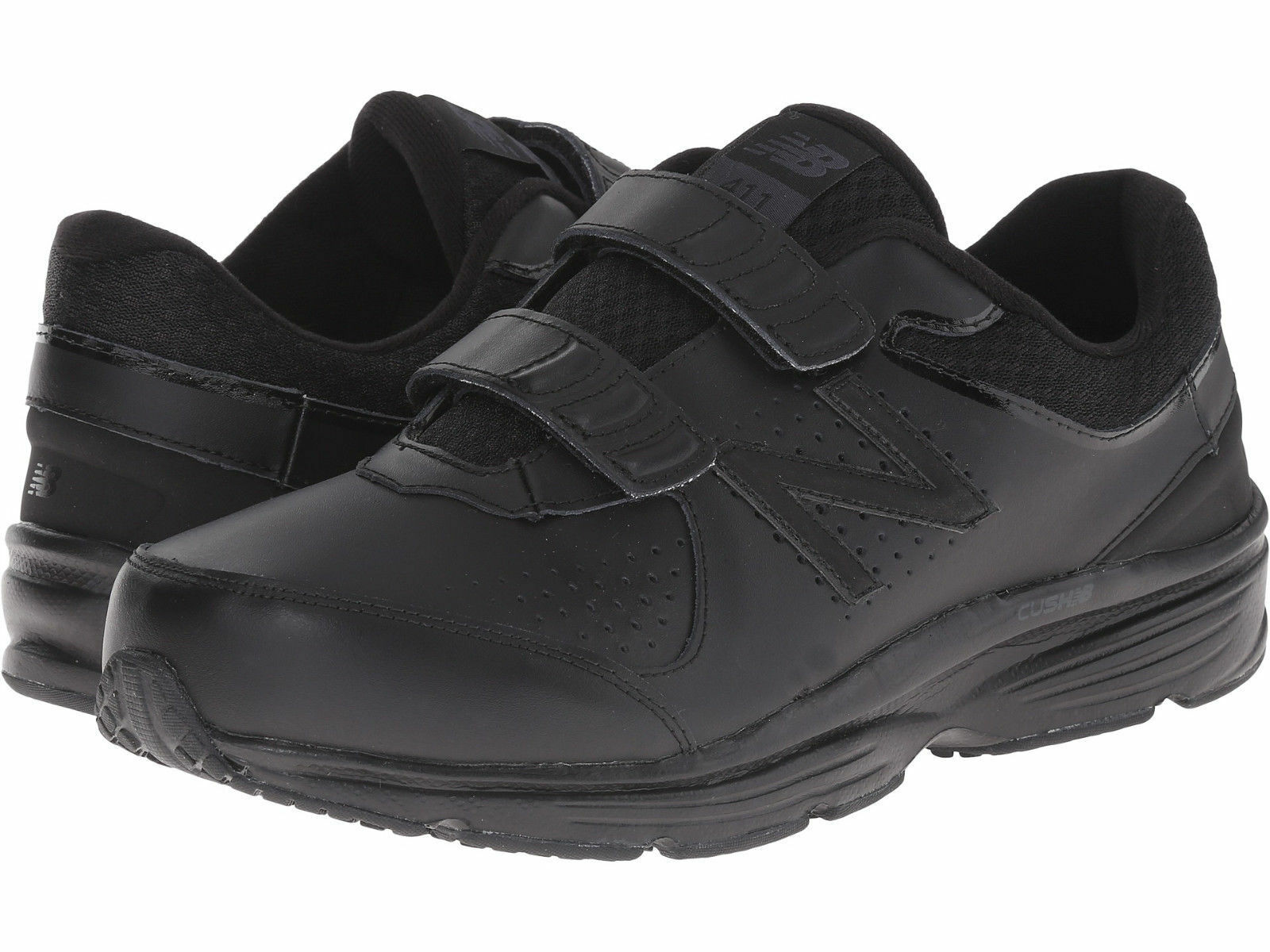 Homme New Balance MW411HK2 Walking Hook  Loop Extra Wide 4E Noir Authentic