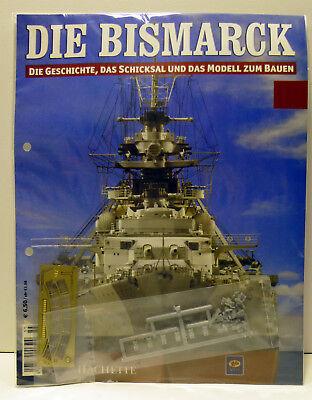 Bismarck//Ausgabe 106//Hachette//Die Geschichte und  Modell Bauen