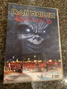 Iron-Maiden-Rock-In-Rio-2-DVD-Set-Good-Condition