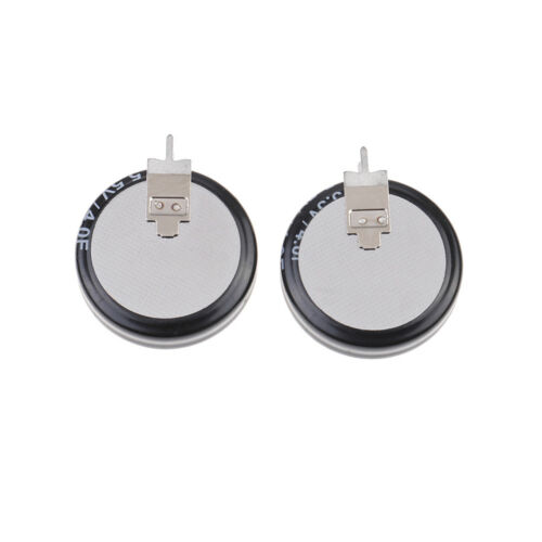 2Pcs 5.5 V 4.0F Super Capacitor H-Type Button Smart Capacitance component G*HTT