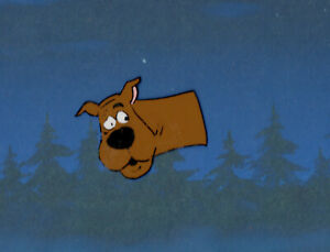 SCOOBY DOO 1972 Production Animation Cel From Hanna Barbera 33