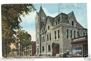 Joliette quebec post office canada bureau de poste vintage