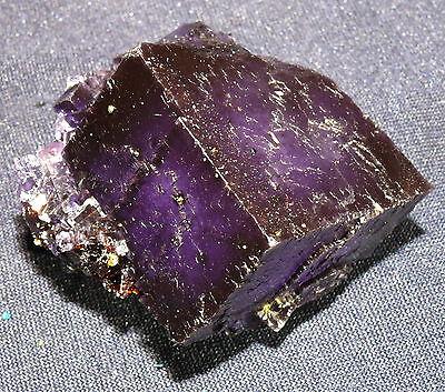 SchöN Natürlicher Fluorit-kristall Tennessee155,5g 53x48x38mm, Heilstein
