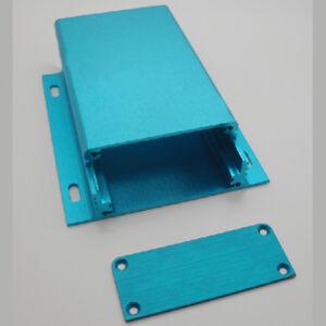 Details about New custom Aluminum PCB enclosure Case Project electronic DIY  - 100*84*25mm Blue