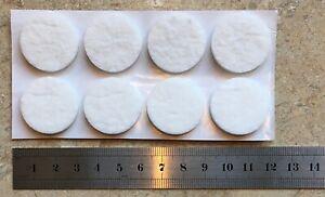 White-Anti-Scratch-Felt-Pads-Furniture-gliders-on-laminate-Tile-Wood-26mm