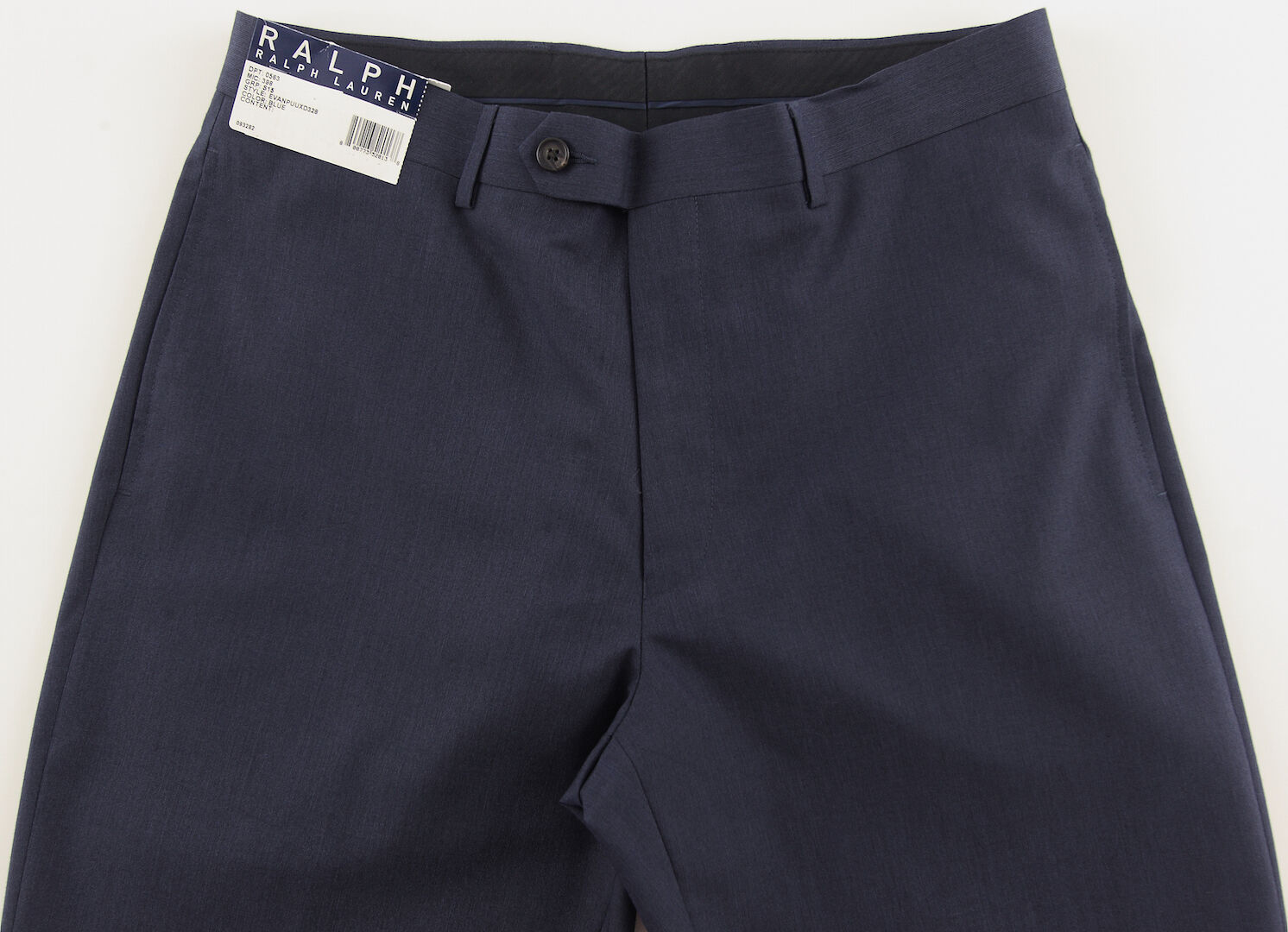 Men's RALPH LAUREN Navy bluee Dress Pants 34x30 34 30 NWT NEW Washable Modern Fit