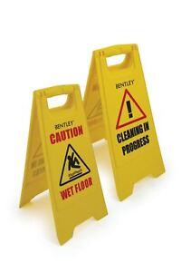 Professionelle-Achtung-Wet-Floor-Sign-Reinigung-in-Progress-gelb-Warnung-Kegel