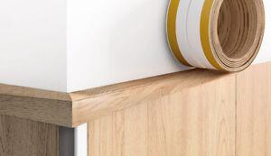Details about Flexible PVC ANGLE - Various colors - 3m length - cladding  trim - SELF-ADHESIVE