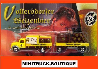 Voltersdorfer Beer (Erotic) / german beer truck, Magirus Sirius, Scale 1:87/HO