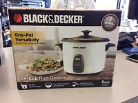 Black&Decker 16 Cup Rice Cooker BRAND NEW! Mississauga / Peel Region Toronto (GTA) Preview